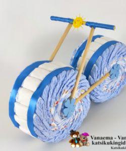 """Mähkemtort """"RATAS-2 ehk sinine 2 rattaline"""""""
